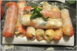 Recette asiatique facile et rapide des rouleaux de printemps aux carottes et au fromage
