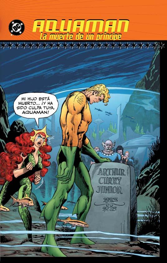 Aquaman - La muerte del Príncipe