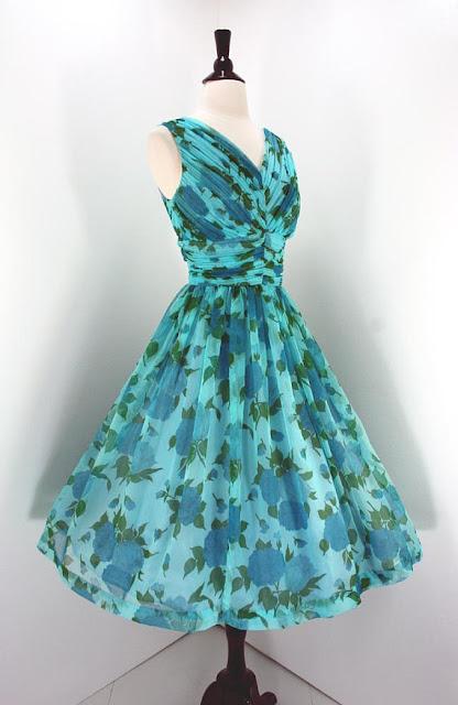50s Vintage Party Dress