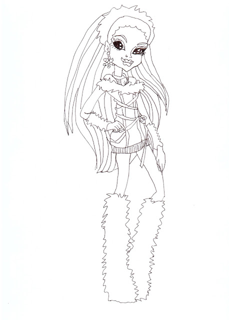 abbey bominable coloring pages - photo#1