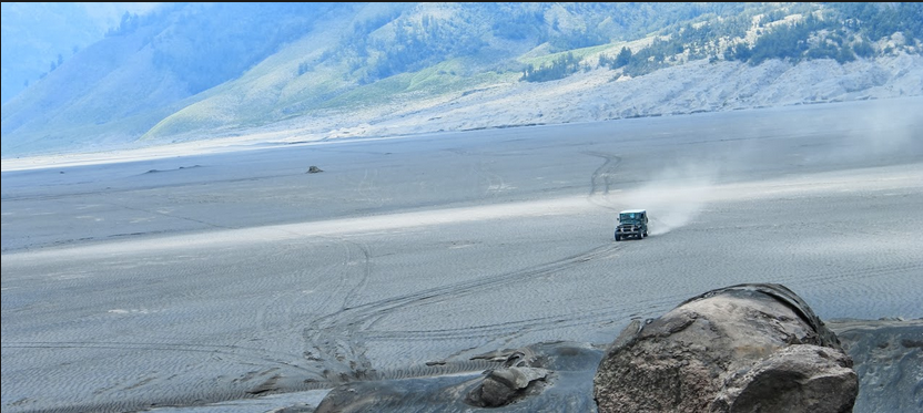 sea of sand - Bromo