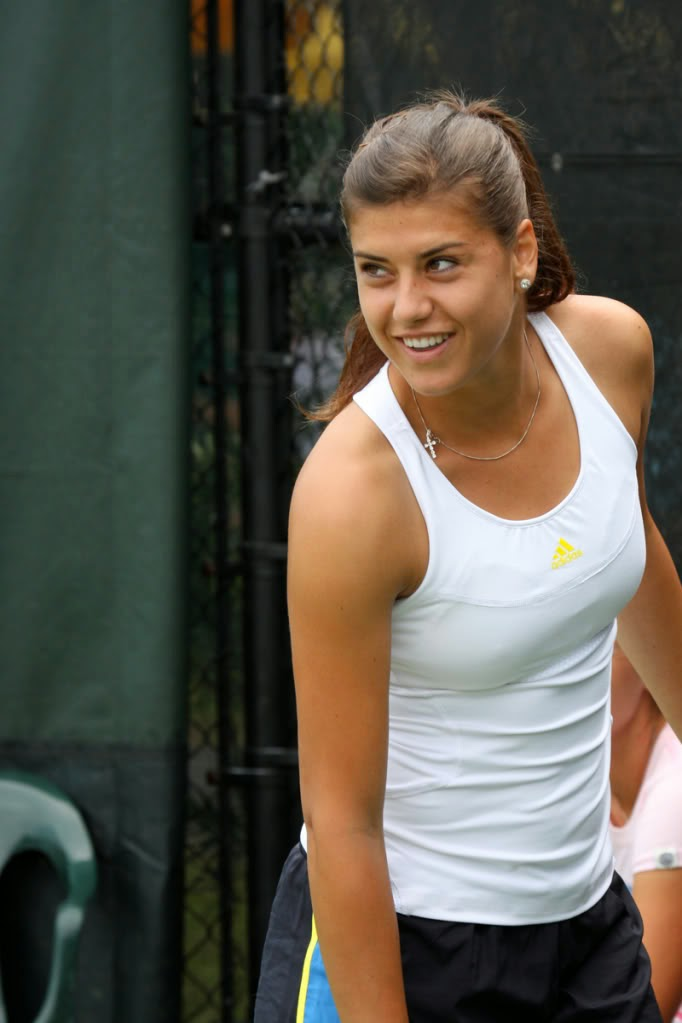 Hot Women In Sport: Sorana Cirstea Badminton Player Name