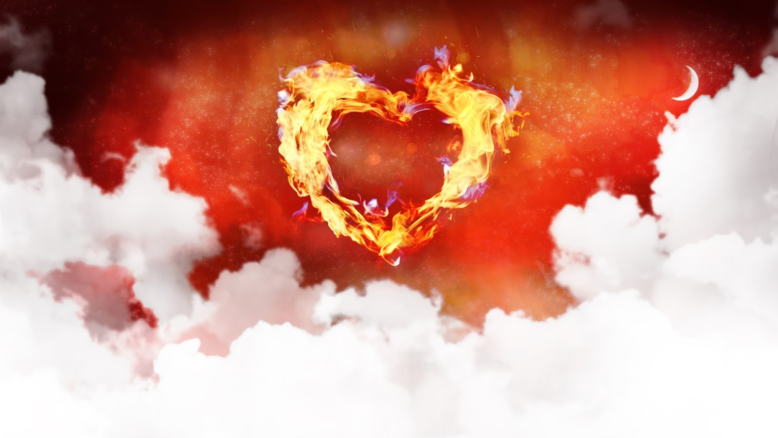 One Love Heart 1920x1080 Wallpaper