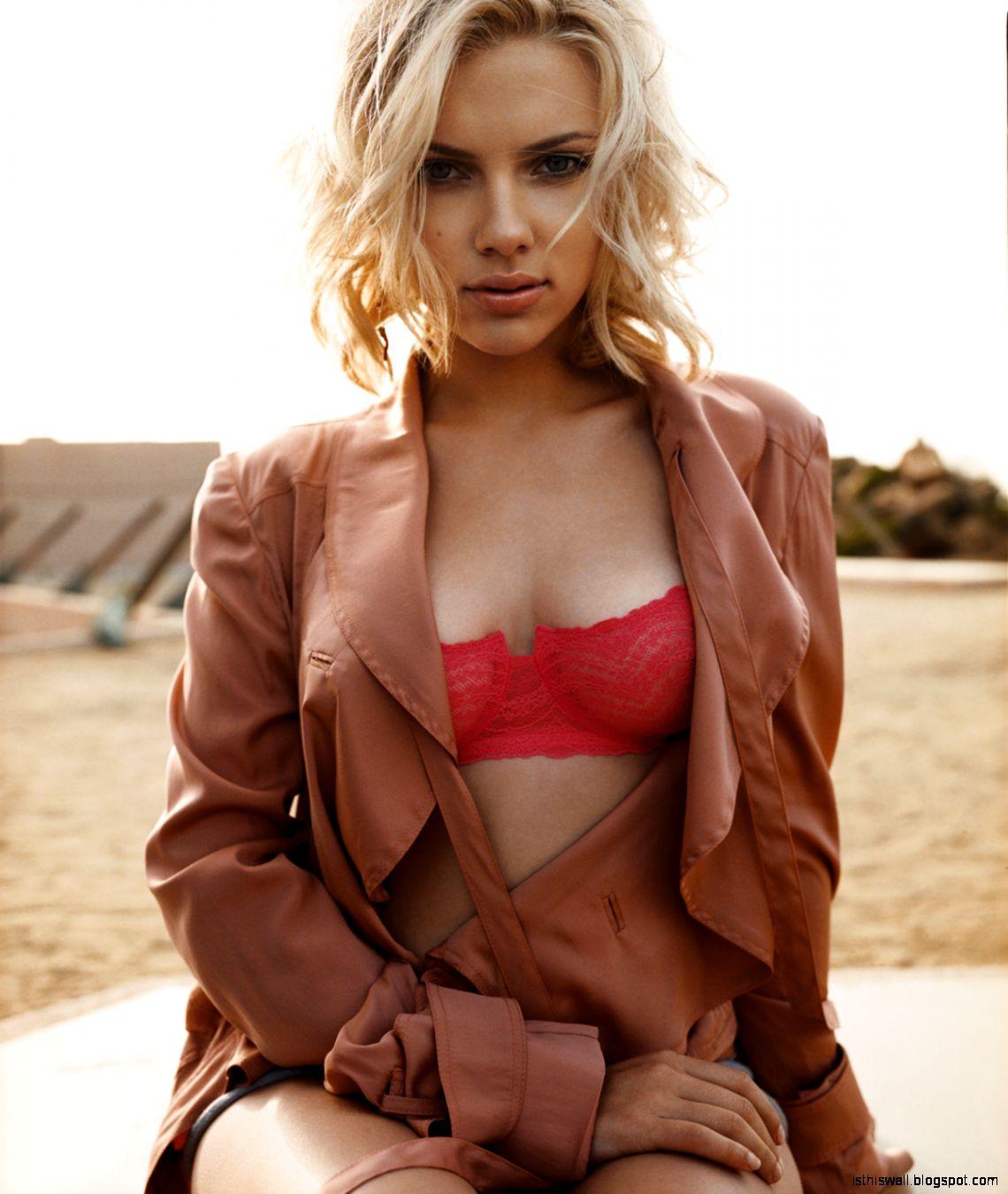 Scarlett Johansson 2013 iest Woman Alive Photos and Video