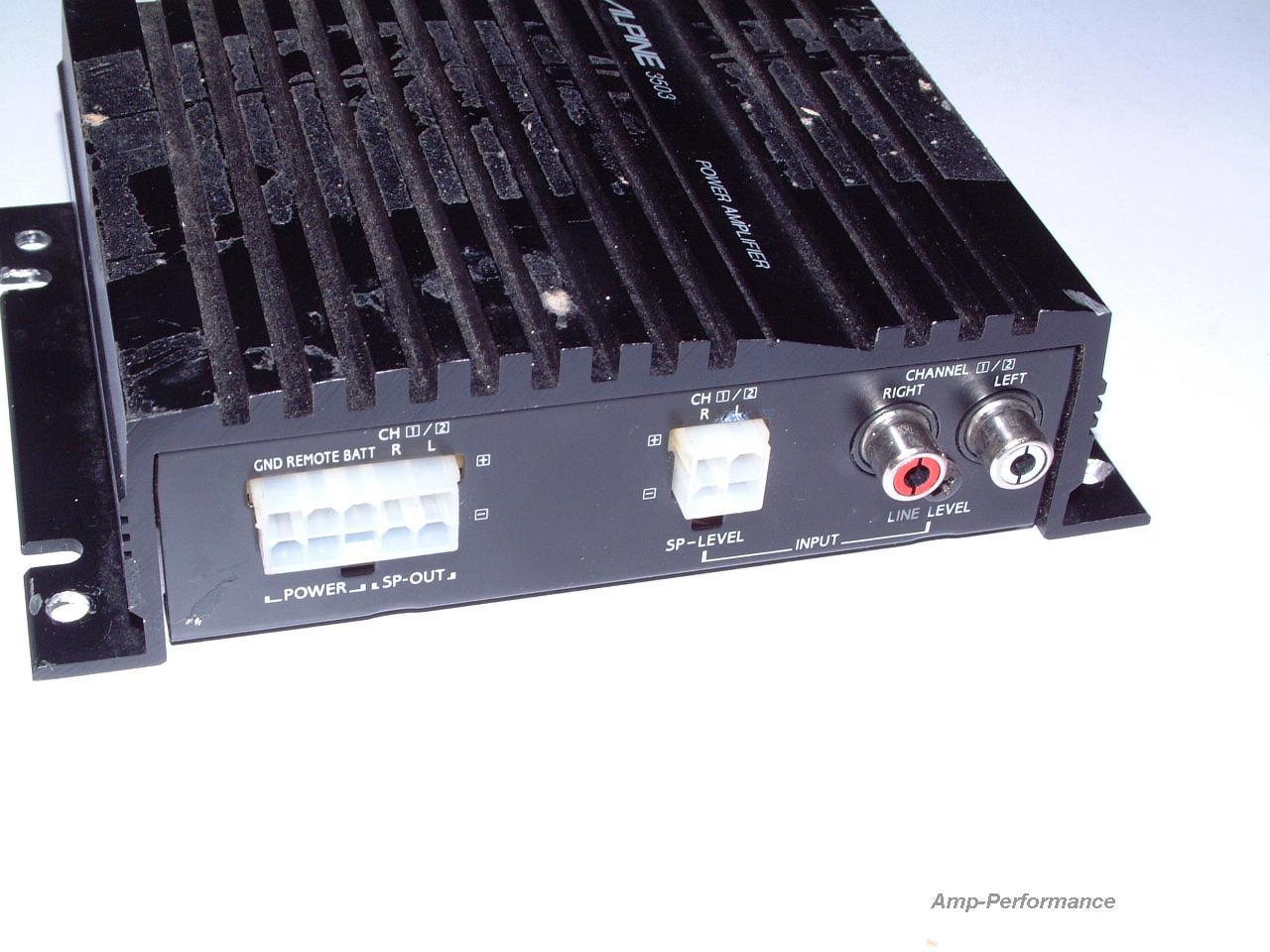power Alpine 3503 36 watt