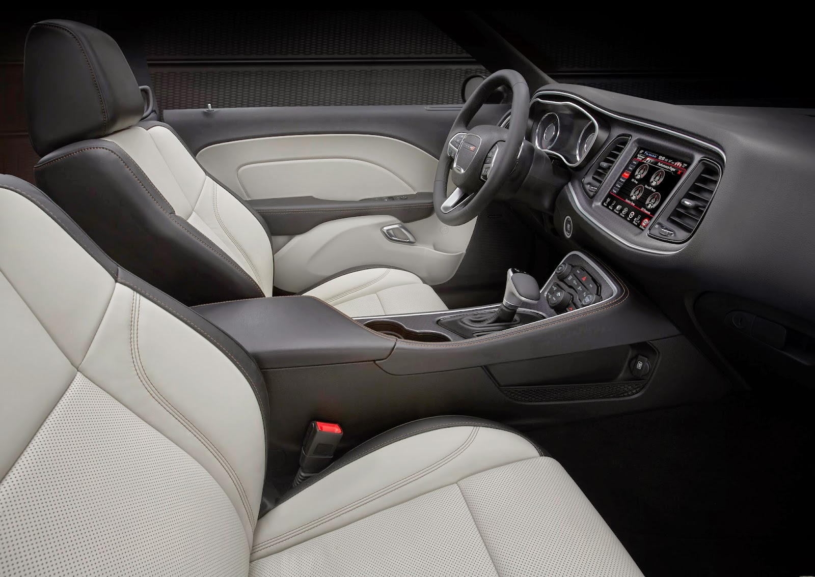 Interior view of 2015 Dodge Challenger R/T