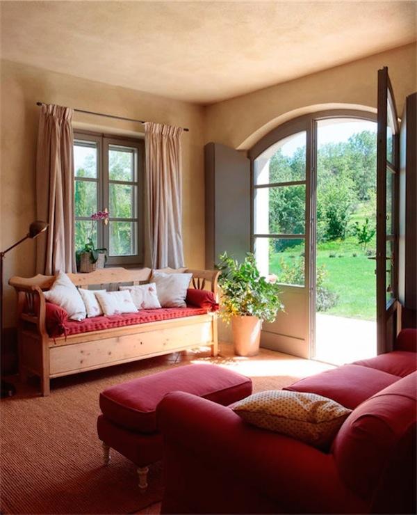 Una casa de campo toscana tuscany country house - Muebles para casas de campo ...