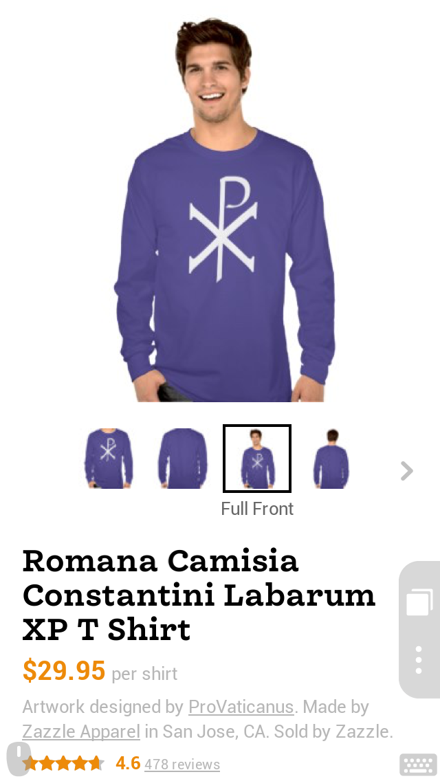Chi Rho Purple Shirt
