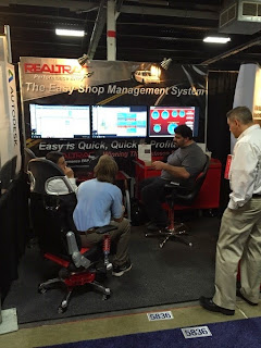 Realtrac ERP Software at EASTEC 2015