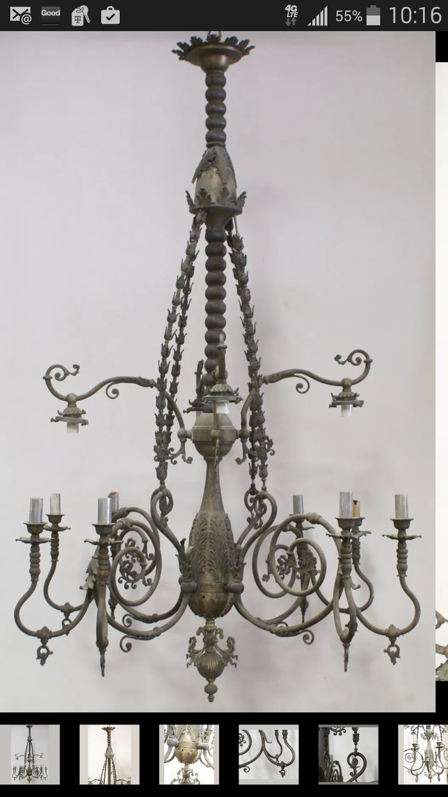 Fabulous Looking at what they did have the chandelier was similar to what the pany was making at the time
