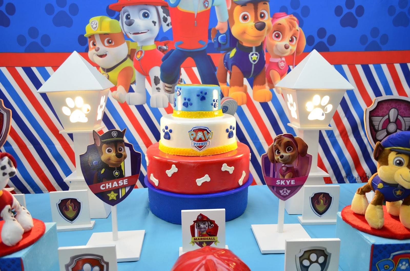 decoracao festa infantil patrulha canina : decoracao festa infantil patrulha canina:Patrulha Canina