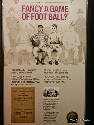 The National Football Museum at Urbis, Manchester Sheffield Football Club
