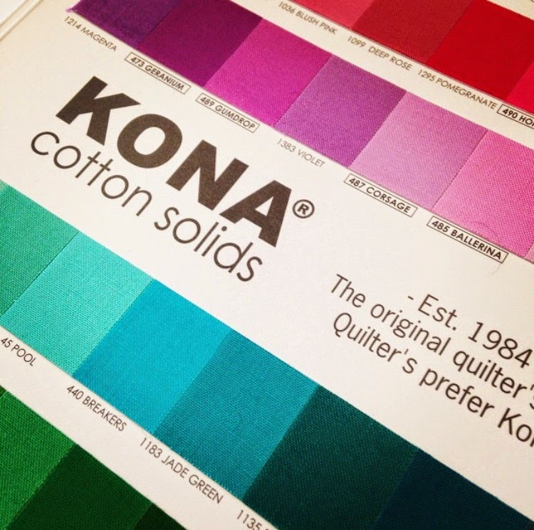 Kona Solids Card