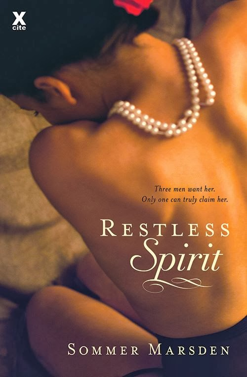 US Release from Sourcebooks: Restless Spirit out in paperback and ebook from Sourcebooks Casablanca