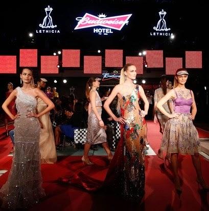 Trio de tops foi o destaque do desfile da estilista Lethicia Bronstein