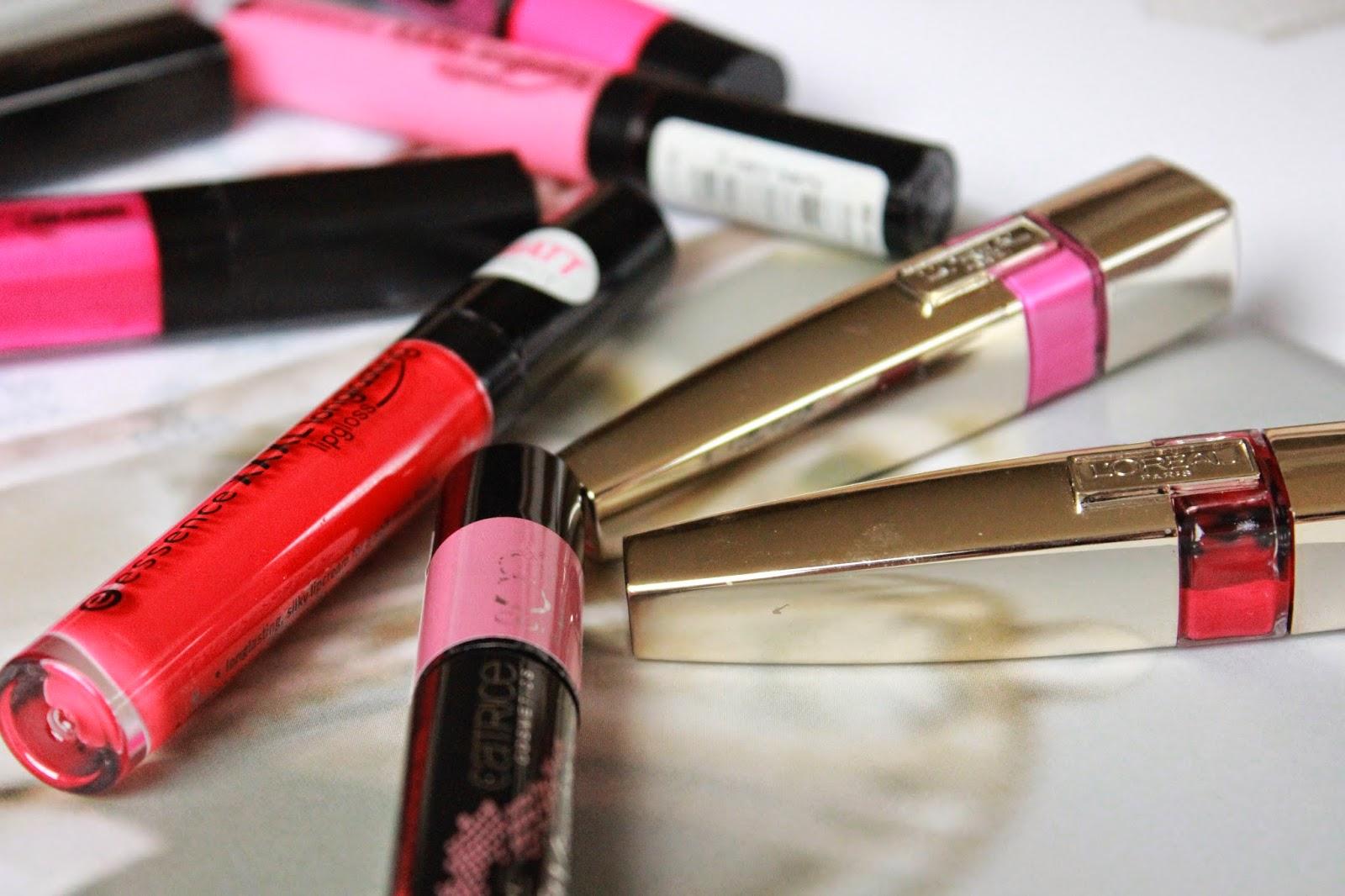 lipgloss die niet plakt
