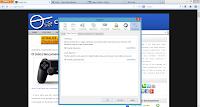 Opções de relatórios do Firefox 20