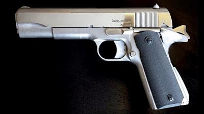 Pistol cetakan 3-D model .45 ACP 1911 (sumber: Guns.com)