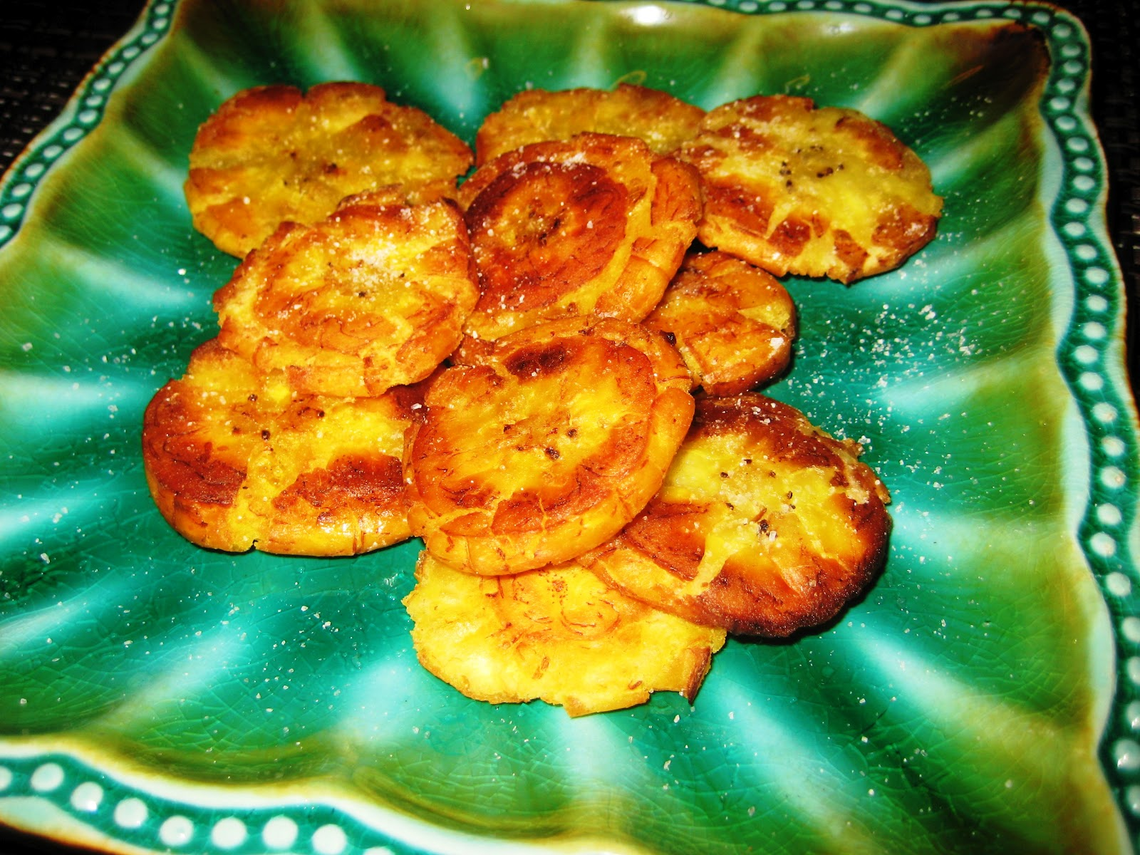 plantain chips with sea salt tostones global table adventure sea salt ...