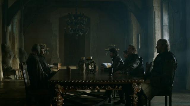 Reunión entre Robb Stark y los Frey - Juego de Tronos en los siete reinos
