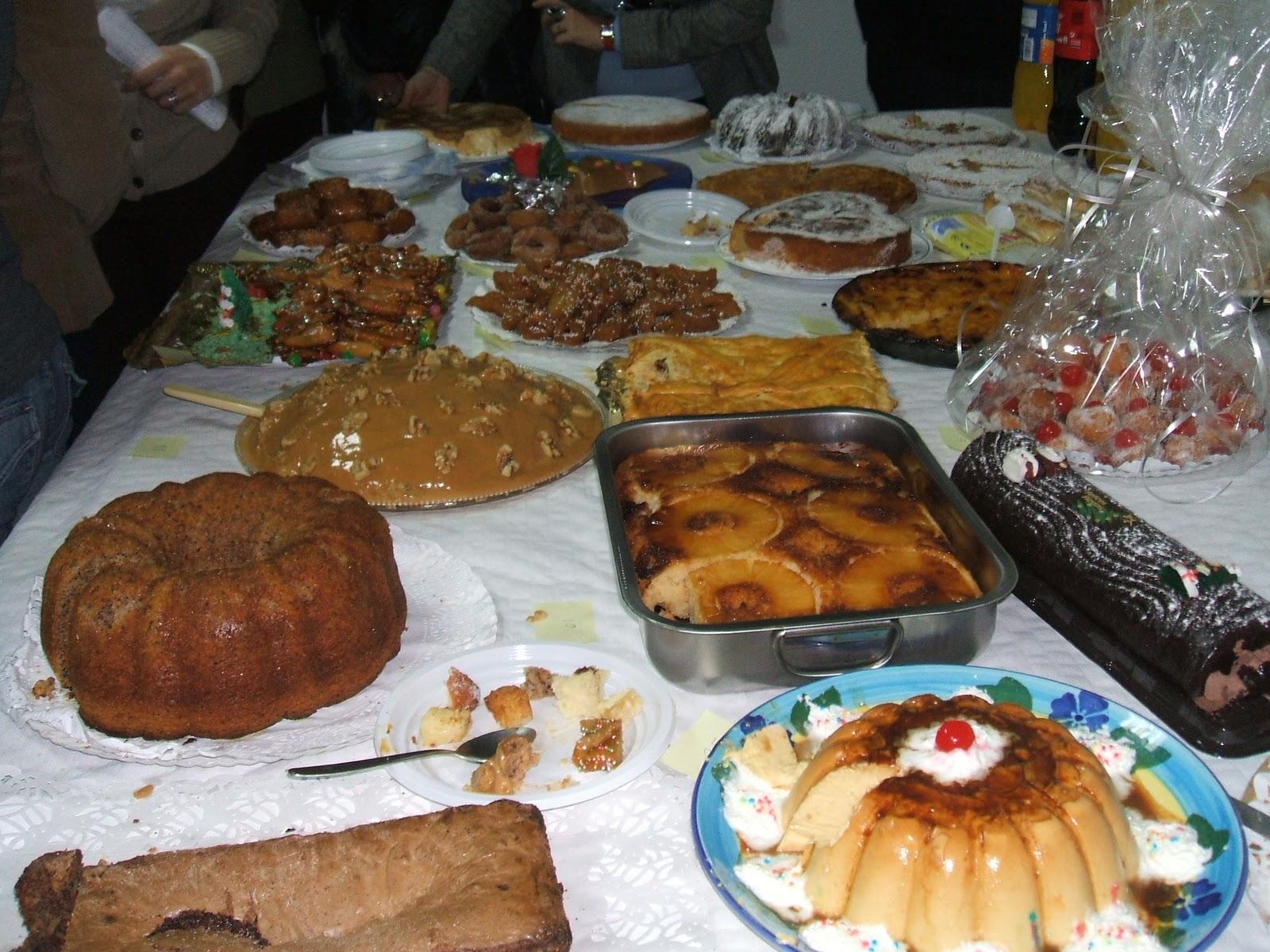 Chiclana voluntaria concurso de dulces navide os - Centros navidenos caseros ...