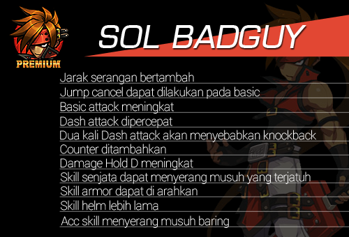 Hero Reform Sol Badguy