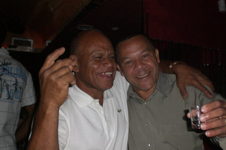 mi padre y su gran amigo Julito Lasso