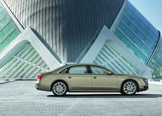 2013 Audi A8 L W12 6.3 FSI Quattro HD Wallpaper