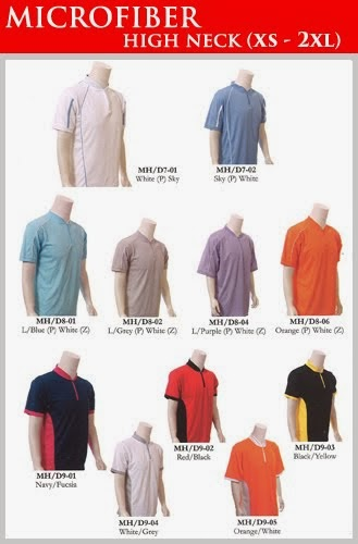 Microfiber High Neck Shirt