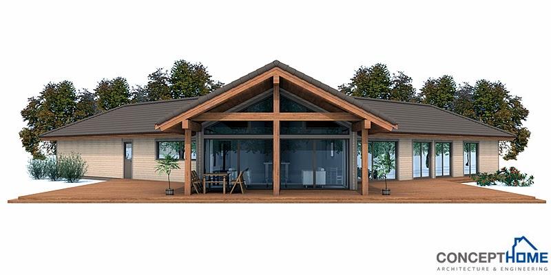 Proyectos de casas modernas proyecto de casa moderna ch134 for Proyectos de casas