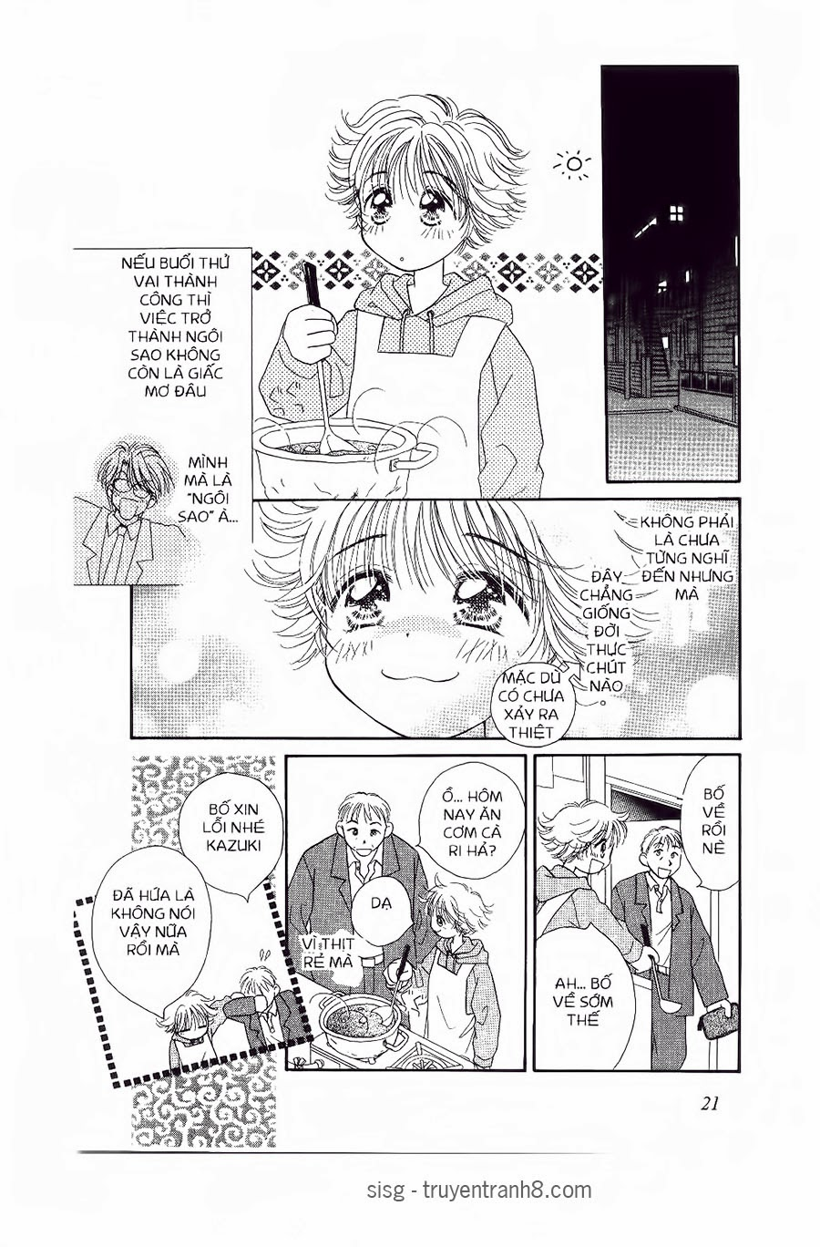 Chắp Cánh ước Mơ chap 13 - Trang 6