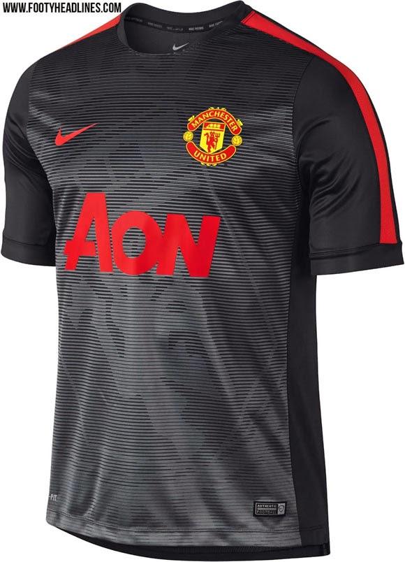 gambar jersey premtach terbaru manchester united musim depan 2015/206