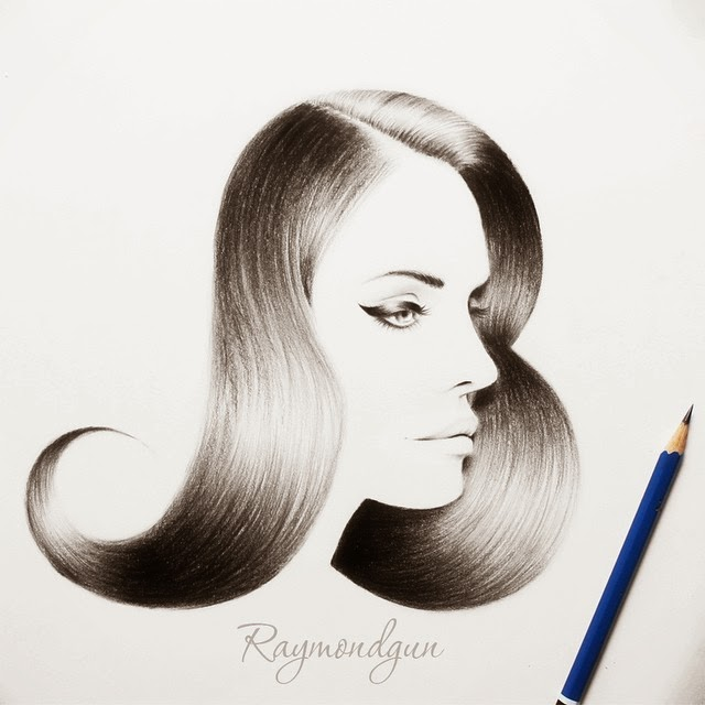17-B-for-Beauty-Raymond-Gunawan-Minimalist-Celebrity-Drawings-mostly-Black-and-White-www-designstack-co