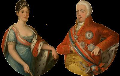 Carlota Joaquina e D. João VI, Reis de Portugal
