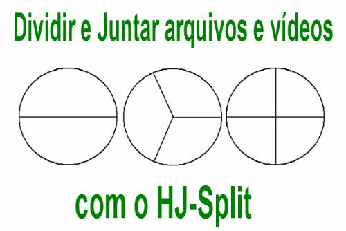 Aprenda a dividir e juntar vídeos arquivos em várias partes com o HJ-Split