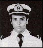 Homenaje al Guardiamarina Claudio Olivieri (19??-1982)