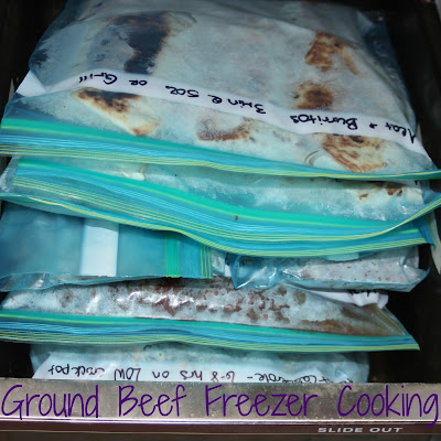 Preparing for Baby with Freezer Cooking