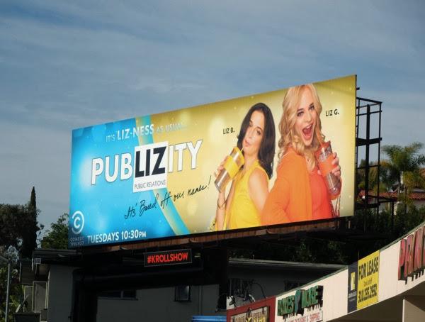 Kroll Show PubLIZity season 2 billboard