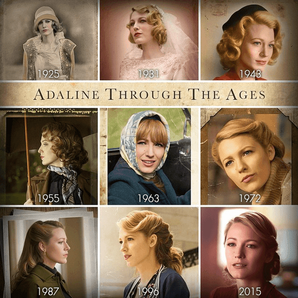 the age of adaline-adaline through the ages
