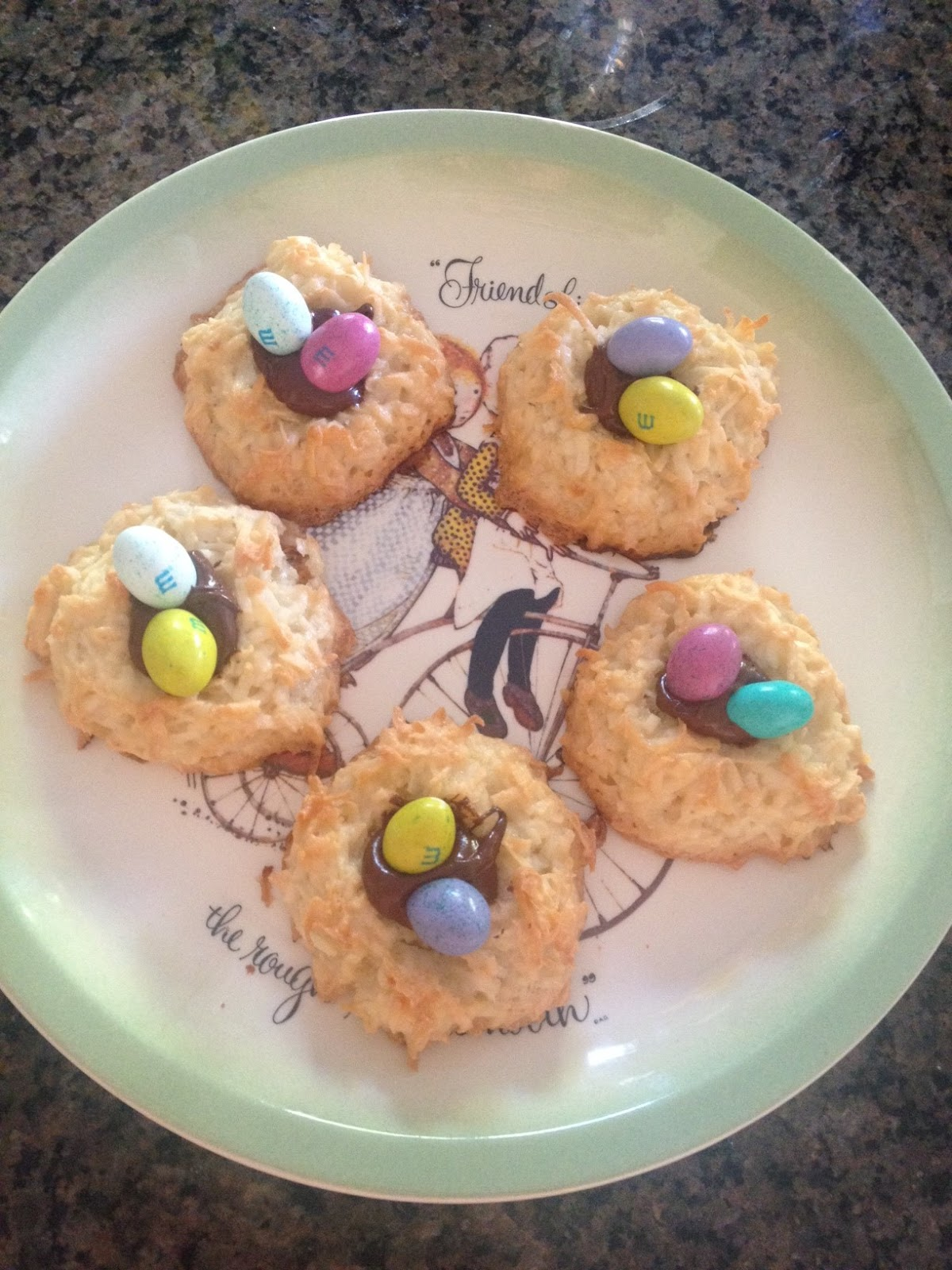 coconut macaroons, sweets, treats