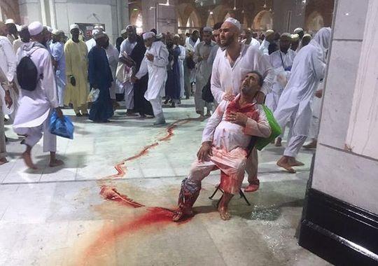 Masjidil Haram, Foto Korban Haji, Crane Runtuh di Mekah