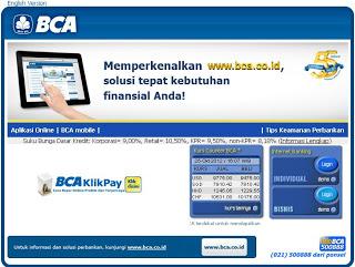 Cara Daftar Internet Banking Klik BCA