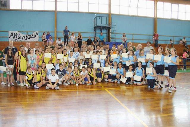 Πληθώρα Αθλητών από όλα τα Δημοτικά Σχολεία  του Δήμου Φυλής στο 23ο Τουρνουά Μπάσκετ