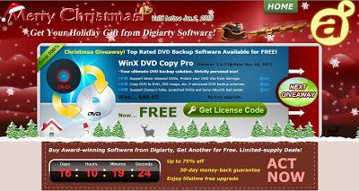 Digiarty 2012年聖誕節活動畫面