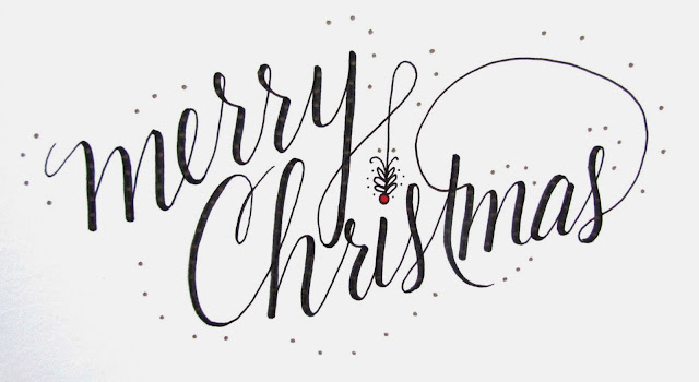 Merry Christmas-Lettering Lately