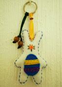 ¡Huevos de fieltro para celebrar la Pascua! conejo pascua fieltro