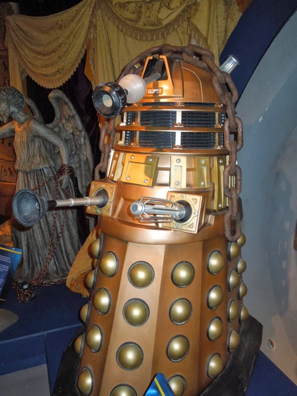 Dalek prop Asylum of the Daleks Doctor Who
