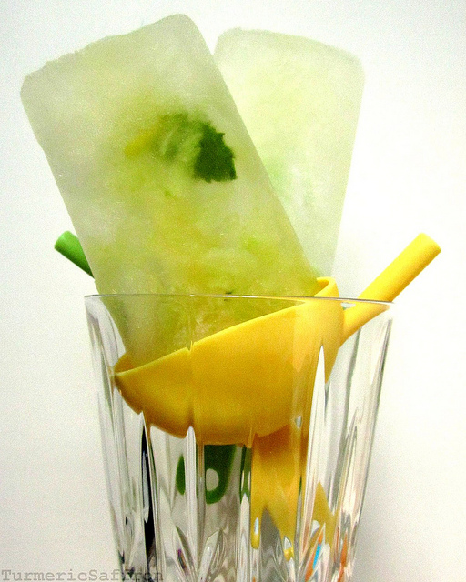 Mint Cucumber Sekanjabin Ice Pops - Ancient Persian Drink Meets the ...