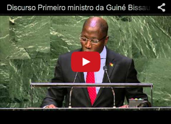 DISCURSO 1º MINISTRO DA GUINE-BISSAU, DOMINGOS SIMOES PEREIRA NA ONU