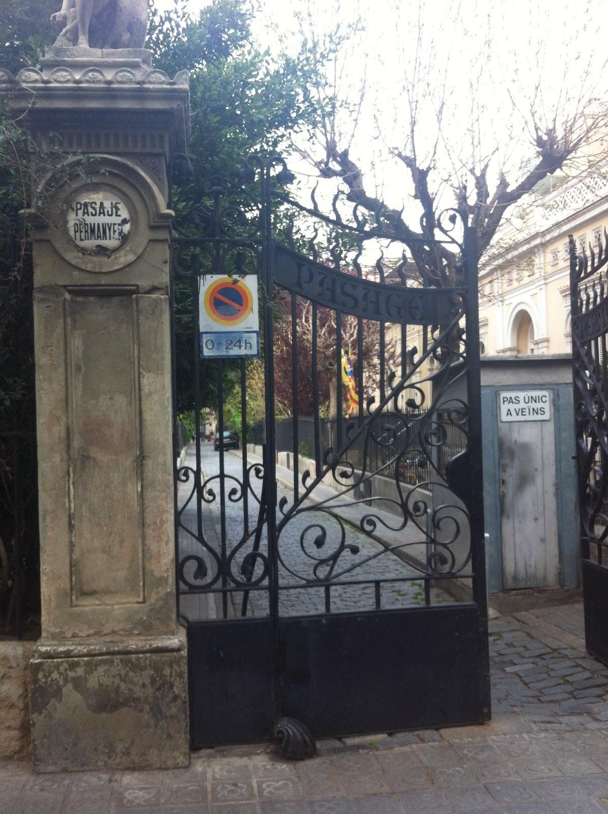 Pasaje Permanyer Barcelona MundoBarcino